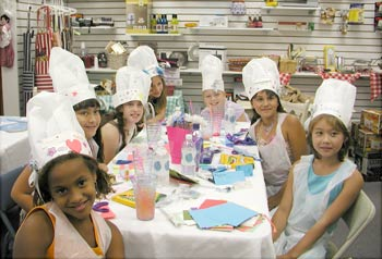 Kids Cook Their Own Food At Our Birthday Parties