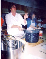 Mardi and Olga teach Tamales class