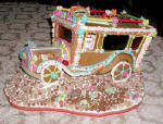 Special Chicken Bus Gingerbread House