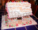 Custom Gingerbread house from Mardi
