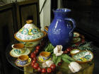 Handpainted Portuguese Pottery