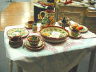 Dinnerware and cooking pots from Portugal