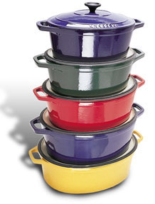 Chasseur Enameled Cast Iron Cookware